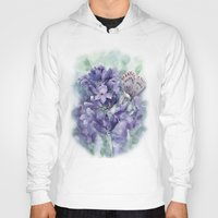 lavender Hoodies featuring Lavender by A cup of grey tea