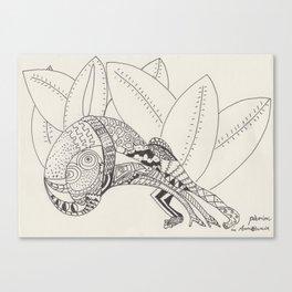 Pasiòn in Amazzonia Canvas Print