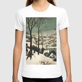 The Hunters in the Snow - Pieter Bruegel the Elder T-shirt