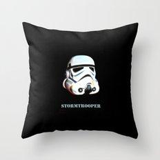 Original StormTrooper helmet Throw Pillow