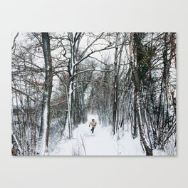 Run & Explore Canvas Print