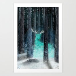 frost, flares Art Print