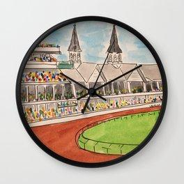 Derby Days Wall Clock
