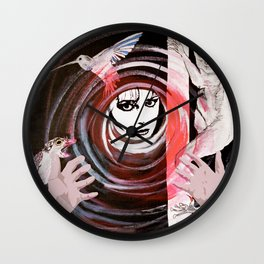 Relationship in peril Wall Clock