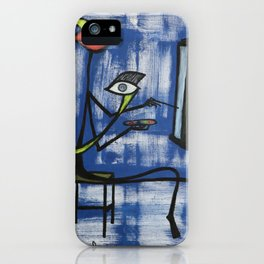 The Hobby Art iPhone Case