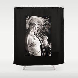 Motherhood best case scenario  Shower Curtain