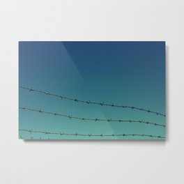 blue skies coming Metal Print