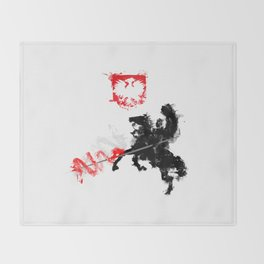 Polish Hussar Throw Blanket