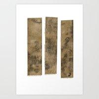 Planks Art Print