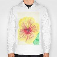 hibiscus Hoodies featuring Hibiscus by merialayne