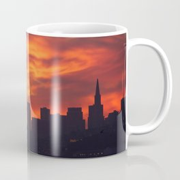 A Dragon over San Francisco Coffee Mug