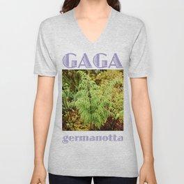 Gaga germanotta Unisex V-Neck