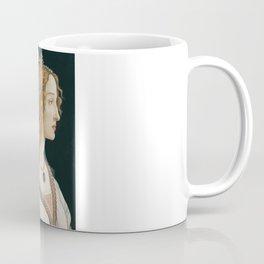 Sandro Botticelli's old Renaissance portrait Coffee Mug