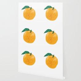 Fruit series Orange fruit Wallpaper