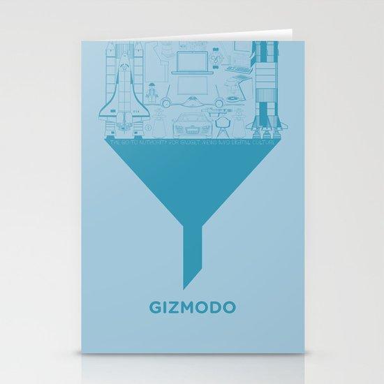 Essence Of Gizmodo Stationery Cards