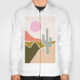 Patterned Desert Hoody