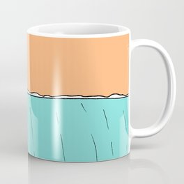 lady slide glassy land of lefts Coffee Mug