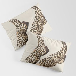 These Boots - Leopard Print Pillow Sham