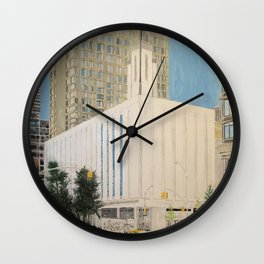 Manhattan New York LDS Temple Wall Clock