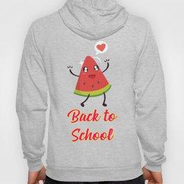 Back to School Watermelon Design Hoody