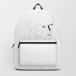 Face Of Art Backpack