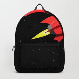 Rocket In Space Backpack