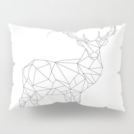 Geometric stag Pillow Sham