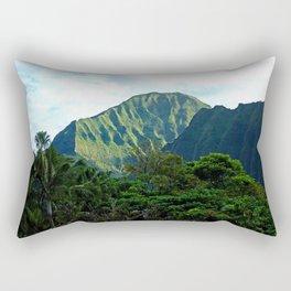 Pali Lookout View 3 Rectangular Pillow