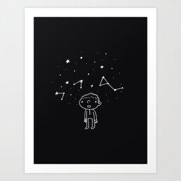 Starlight Wonder Art Print