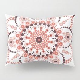 Millennial Pink Mandala Pillow Sham