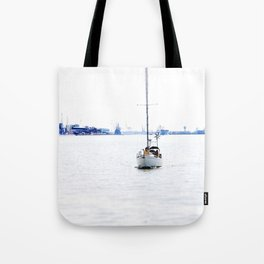 sail with me Tote Bag