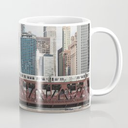 Wells Street Bridge - Chicago Photography Coffee Mug