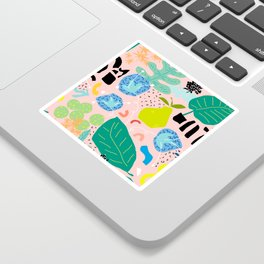 Abstract Orchard Sticker