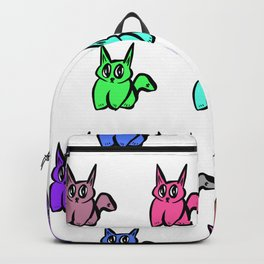 The Multicolor Pussy Cat Parade Backpack