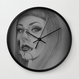 Devines zombies #4 Wall Clock
