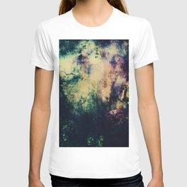 Dark ink texture T-shirt