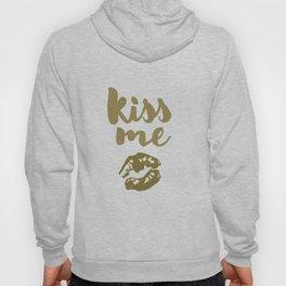 Kiss Me (white) Hoody