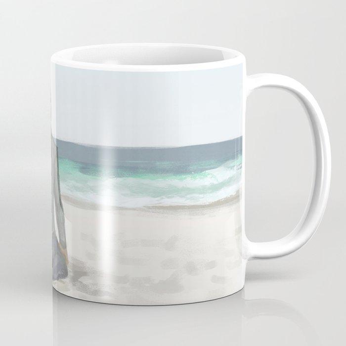 Rowan On The Beach Coffee Mug