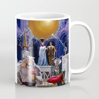 princess bride Mugs featuring Bride of the Castle by Hescox