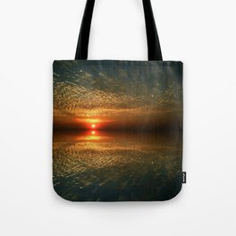 Last Sunset with a Friend Tote Bag