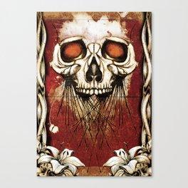 Skullprint Canvas Print
