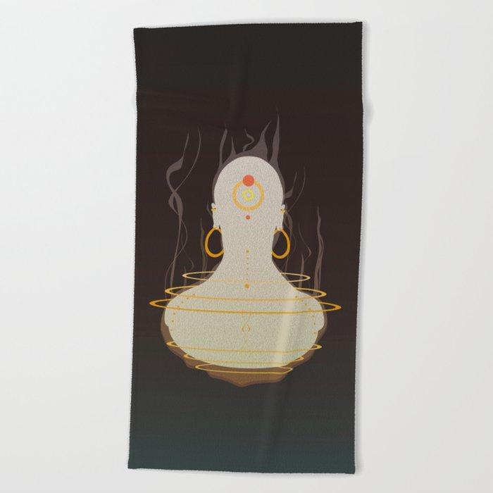 Genie Beach Towel