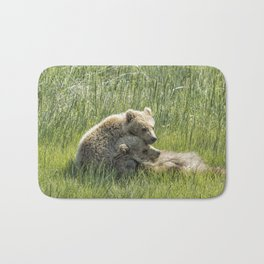 I Got Your Back - Bear Cubs, No. 4 Bath Mat