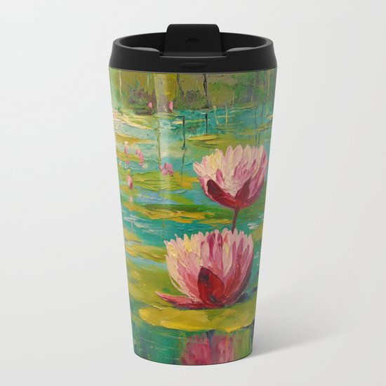 Pond Metal Travel Mug