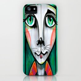 Green Goddess iPhone Case