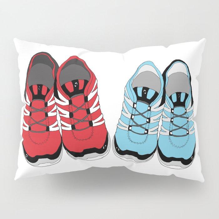 Sporty Shoe Love Pillow Sham