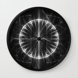 White Circle Wall Clock