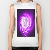 erotic Biker Tanks featuring Space and time 8  Erotic by Walter Zettl