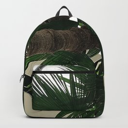 Forest Green Palm Tree Upshot Photo Backpack