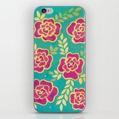 Watercolour Roses iPhone & iPod Skin